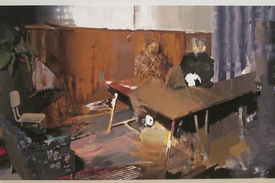 cc Flkicr rocor photostream Adrian Ghenie The Trial, 2010. Oil on canvas. SFMOMA