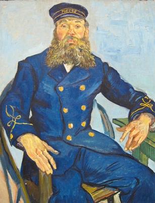 cc Flickr  Sharon Mollerus photostream Van Gogh, Postman Joseph Roulin, 1888