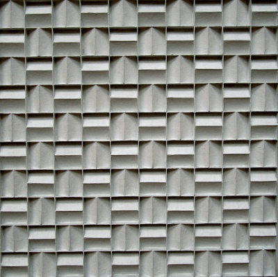 cc Flickr tvbrt photostream Jan Schoonhoven Metrical quadrate relief, 1968