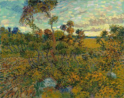 cc commons.wikimedia.org Sunset at Montmajour 1888 Van Gogh