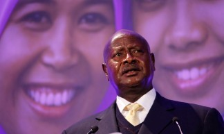 President Yoweri Museveni of Uganda, speaking at the London Summit on Family Planning - DFID - UK Department for International Development