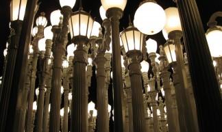 Chris Burden, Urban Light (detail) - Maria Gilbert