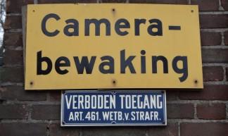 Camera-bewaking / VERBODEN TOEGANG - Nick Sherman