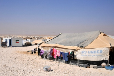 cc Flickr Foreign and Commonwealth Office Zaatari refugee camp, Jordan