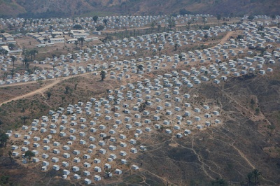cc Flickr MONUSCO Photos Aerial view Lusenda Burundi refugee camp