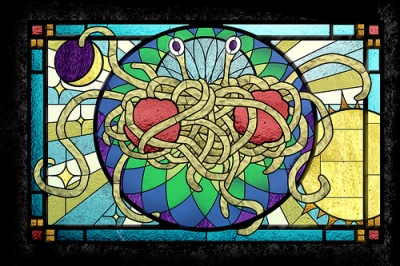 cc Flickr The Flying Spaghetti Monster by Sarah Pierce