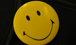 Smiley detail - Ged Carroll
