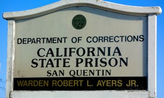 San Quentin State Prison sign - Michael LoRusso