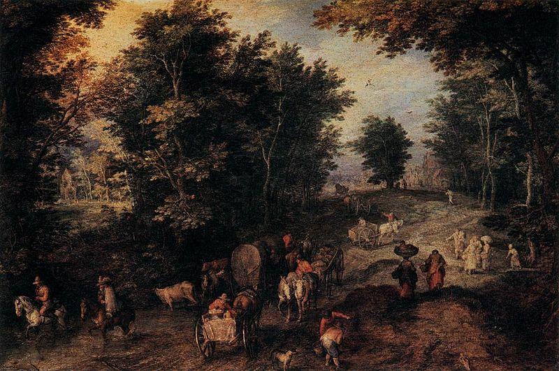 cc commons.wikimedia.org Jan Brueghel (I) - The Caravan