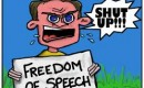De onbegrepen vrijheid  van meningsuiting