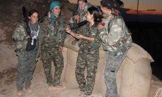 Kurdish YPG Fighters - Kurdishstruggle
