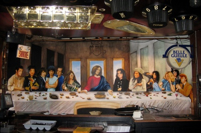 cc Flickr Wally Gobetz photostream Montréal - Vieux Montréal Pub St. Paul - Last Supper