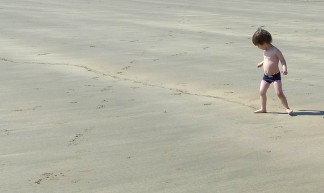 Drawing A Line In The Sand - Henry Burrows
