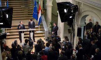 Bezoek Hollande - Minister-president Rutte