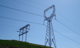 electric power line towers - Stefan Andrej Shambora