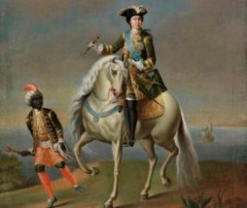 cc commons.wikimedia.org Equestrian portrait of Catherine I