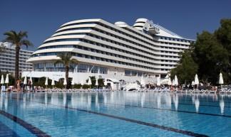Hotel Titanic Beach Resort in Antalya, Turkije. - Dirk-Jan Kraan