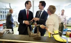 Werkbezoek aan opleidingsinstituut voor specialistisch vakmanschap in Utrecht - Minister-president Rutte
