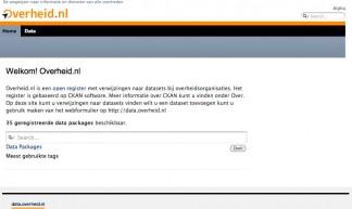 Overheid.nl - Open Knowledge