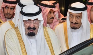 King Abdullah and younger brother Crown Prince Salman bin Abdulaziz al Saud - Tribes of the World