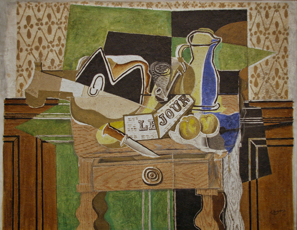 cc Flickr Cliff photostream Still Life Le Jour by Georges Braque