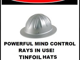 Tinfoil hat - AJC ajcann.wordpress.com