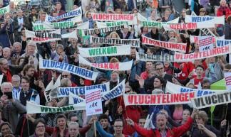 Manifestatie Vluchtelingen Welkom! - SP Groningen