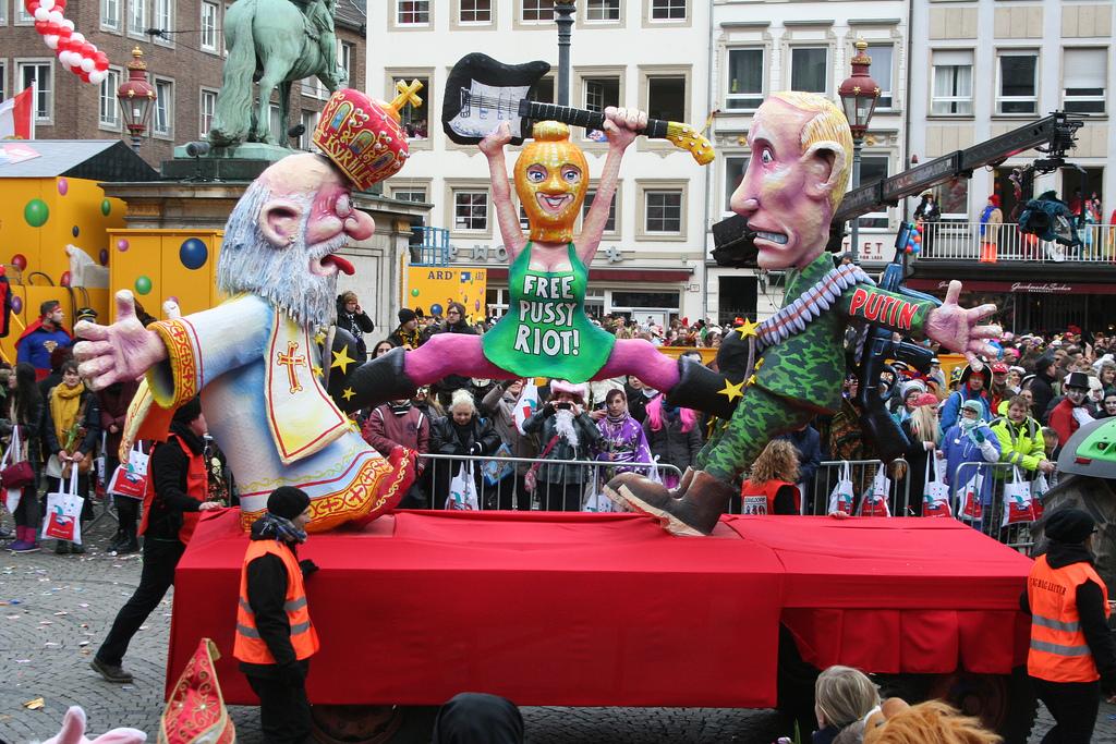 cc Flickr Citanova Düsseldorf Düsseldorf Karneval 2013 Free Pussy Riot