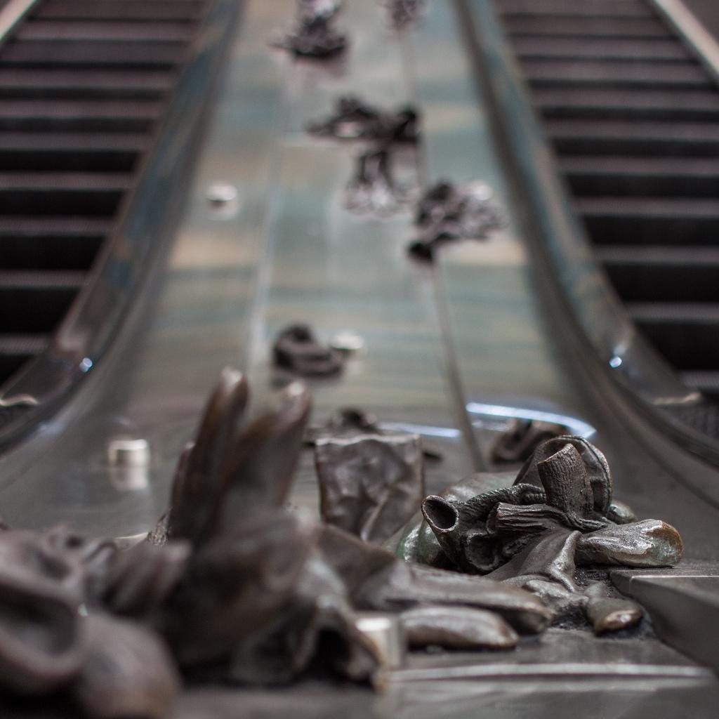 cc Flickr Tim Sackton Escalator Art
