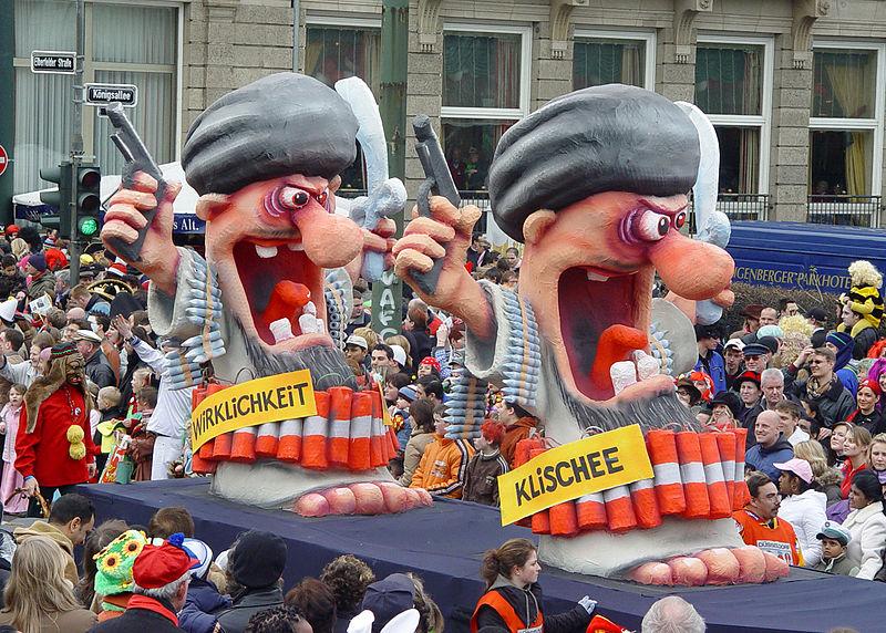 cc commons.wikimedia.org Karnevalswagen Klischee Wirklichkeit 2007