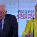 Vermakelijk fragment uit het Democratisch debat van vannacht, waarin Bernie Sanders…