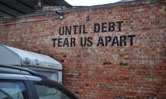 Until debt tear us apart. LX Factory - Marta Nimeva Nimeviene