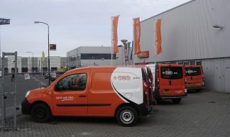 Maarssen: TNT Post Vans - harry_nl