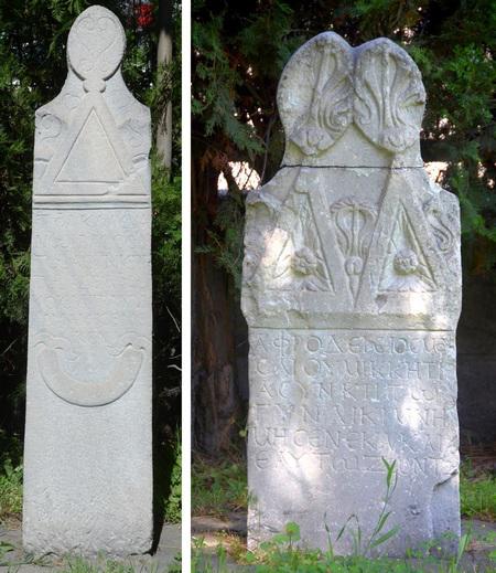 Twee graven uit Kayseri