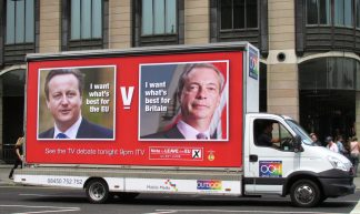 London June 7 2016 021 ITV EU Referendum Debate  Cameron v Farage (2) - DAVID HOLT