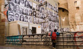 Inside Out Project - Locals Protest  in Barcelona - Jordi Boixareu