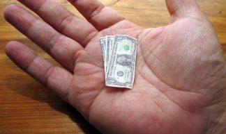 the shrinking dollar - frankieleon