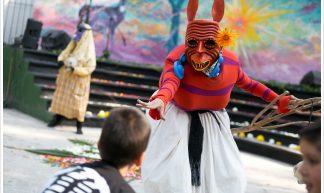 Masks street theatre @ Mexico City - Montecruz Foto