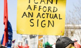 I Can't Afford an Actual Sign - Thomas Hawk