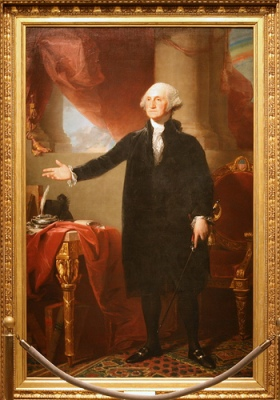 cc Flickr Cliff George Washington Lansdowne portrait, First President 1789-1797
