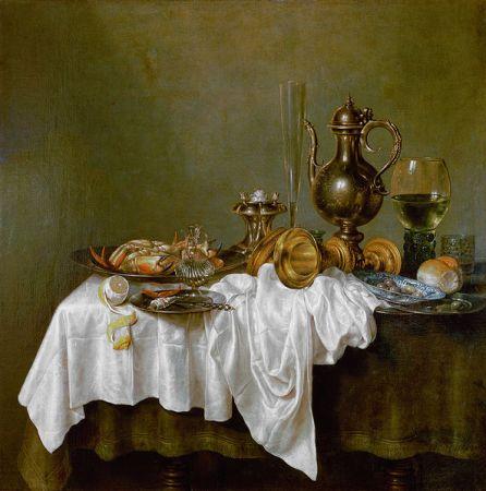 cc commons.wikimedia.org Heda ontbijt met krab