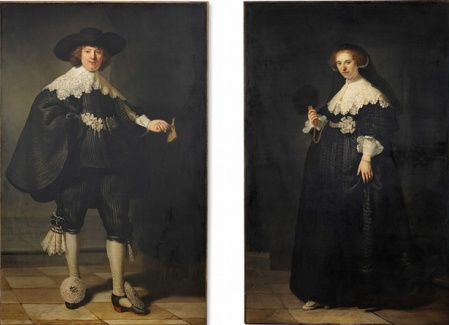 cc commons.wikimedia.org Pendant portraits of Maerten Soolmans and Oopjen Coppit