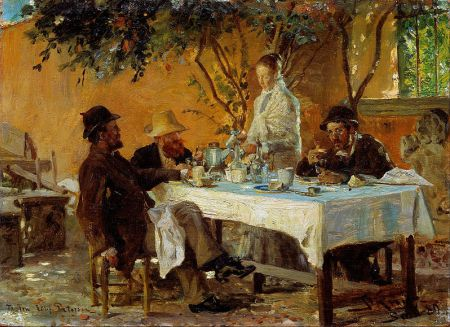 cc commons.wikipedia.org Peder Severin Krøyer - Breakfast in Sora