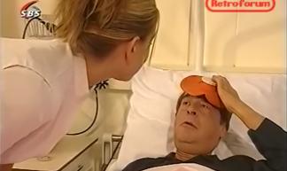"""""""Gaat het weer een beetje, mijnheer Dröge?"""" SBS6 Glamourland, 2002"""