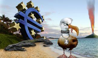 EU Austerity Albatross - DonkeyHotey