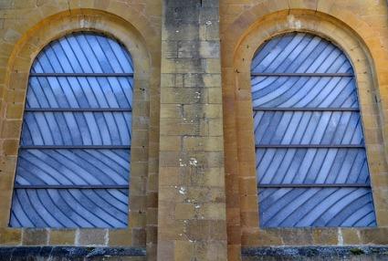 cc Flickr CpaKmoi Conques - les vitraux de Pierre Soulages