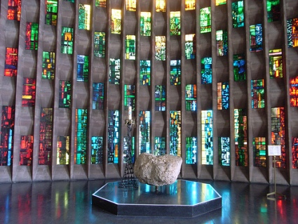 cc flickr Steve Cadman Baptistry, Coventry Cathedral