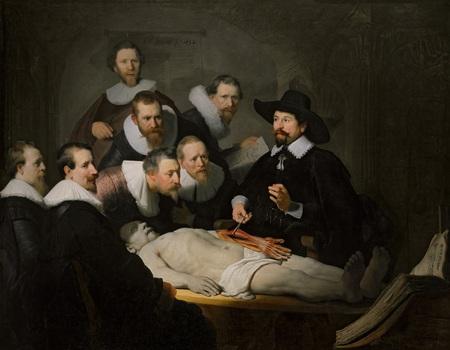 Rembrandt, Anatomische les van Nicolaes Tulp
