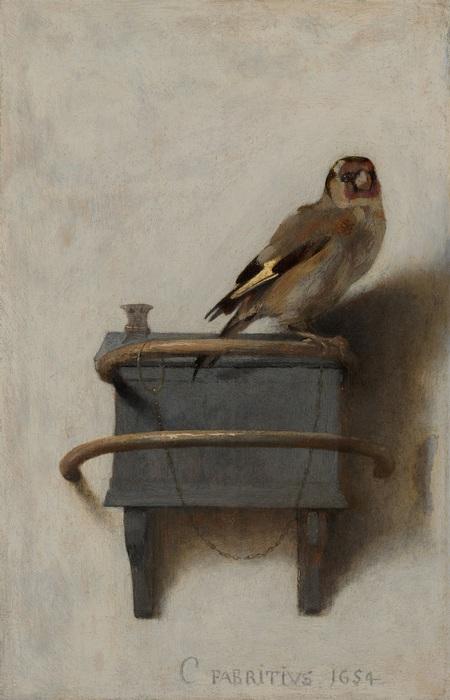 Carel Fabritius: Het puttertje
