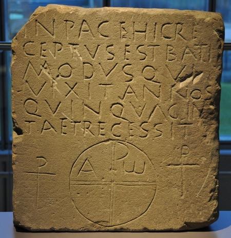 Grafsteen van Batimodus (Archeologisch Museum van Xanten)